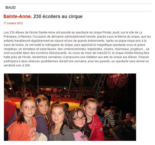 presse-cirque-saint-anne-2012telegramme-klising-achille
